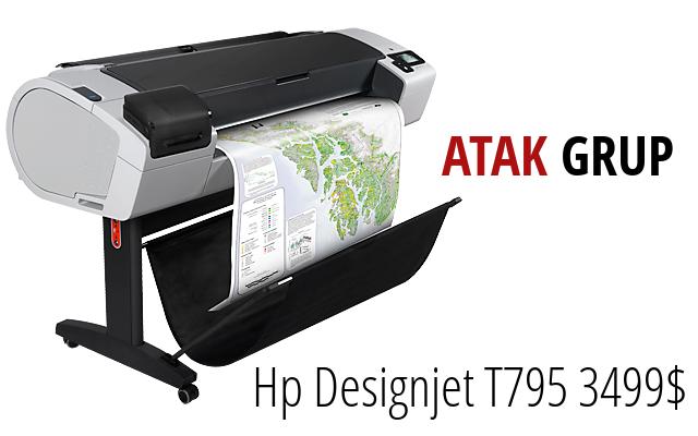 HP Designjet T795 3499$!
