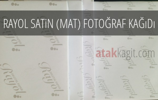 Rayol Satin (Mat) Fotoğraf Kağıdı