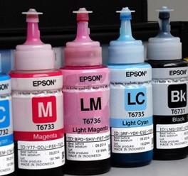 Epson L800 Orijinal ve Muadil Mürekkepler